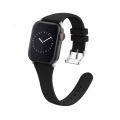 Silicone Narrow Slim Apple Watch Band