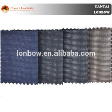2018 all black wool fabric roll for men's suits wholesale