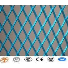 Revestimiento de malla de metal expandido recubierto de alta calidad, galvanizado / hoja de malla metálica expandida