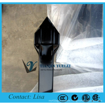 Pressed Spear Top Tubular Fencing Hot Sale