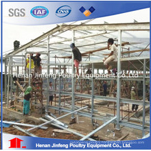 Hot/Cold Galvanization Chicken Poultry Farm Equipment