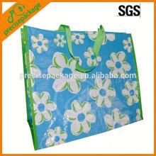 Bolsa de supermercado reutilizable laminado pp no tejido