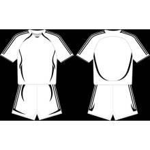 Полосатый бейсбол Джерси Бланк платье