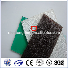 Klasse A SGS genehmigte feste Polycarbonat mattiert Blatt