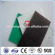 Grado A Sólido de policarbonato sólido aprobado por SGS