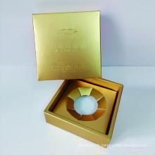 Boîte d'emballage de bijoux de logo personnalisé