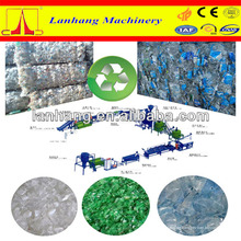 PET Flake Recycling Linie von Lanhang Machinery