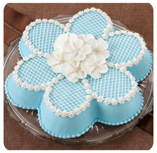 Flower-shaped Aluminum Cake Pan (9)