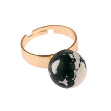 Moda personalizado elegante anel turquesa joias