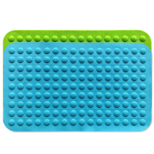 Factory customized silicone high temperature resistant bathroom non-slip bath mat bathroom massage mat