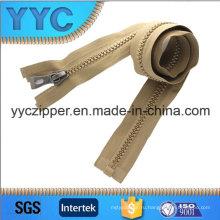 Высокое качество Длинный пластик Дешевые молнии Оптовая Yyc