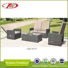 Mobília de exterior cadeira de reclinável de lazer (DH-177)