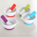 Küchenwerkzeugset aus Silikon mit Silikongriff und rutschfester Silikonbasis