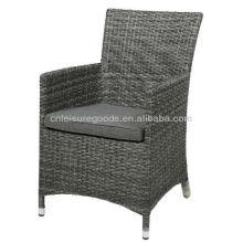 2013 мода дешевые открытый плетеная мебель из ротанга стул