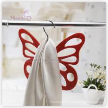Cabide de roupa em forma de borboleta em plástico PP (29.5 * 24cm)