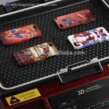 phone case printing machine, 3D sublimation vacuum machine with CE certificate