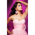 A-line Sweetheart Chapel Train Taffeta Beading Ruffled Wedding DressA-line Sweetheart