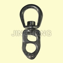 SS: Swivel Snap Shackle With Tiger Head