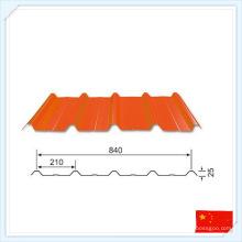 Plaque d'acier préfabriquée standard de haute qualité de GB pour le toit