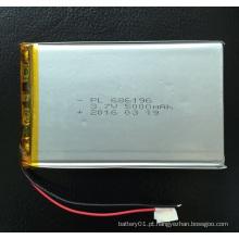Bateria recarregável 3.7V 3600mAh Li-Polymer Battery 506890