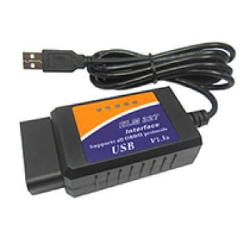 Scanner OBD/Obdii Elm 327 carro varredor diagnóstico Elm327 diagnóstico Obdii Scanner Elm327 USB Interface USB