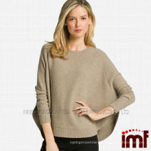 Fashion Ladies Wholesale Knitted Pure Cashmere Poncho