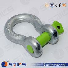 Electrogalv Us Tipo Shackle Parafuso Pin Âncora Arco