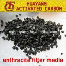 Anthrazitfiltermedium FC 80-85-90% Inhalt für Kläranlage