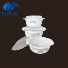 Conjunto de caçarola de produtos vidreiros-3PCS Opal resistente ao calor
