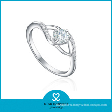 Fashion European 925 Sterling Silver Ring for Discount (R-0178)