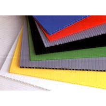 Vietnamese 1220*2440mm Highly elastic and durable polypropylene hollow sheet