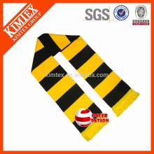 Custom Knitted Acrylic Football Club Bar Scarves