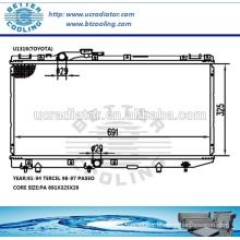 Cheap Car Radiator For Toyota Tercel 91-94 /Paseo 96-97 MT OEM:1640011530