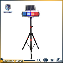 12V waterproof traffic roadway safety solar warning lamp