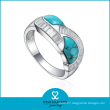 Bezzel Setting Adjustable Sterling Silver Rings