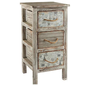 Painting Custom Style Wholesale Vintage Cabinet night stand for Decor