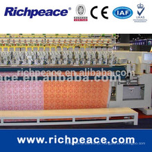 Richpeace Computerized Multi-Color Quilting and Embroidery Machine