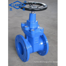 Non-Rising Stem Resilient Seated Gate Valve with Flange End (Z41)