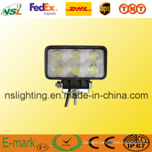 18W LED Work Light Offroad LED Driving Light for Tractor, Forklift, 4*4 off Road, ATV, Excavator, Heavy Duty Equipment etc Nsl-1806A-18W