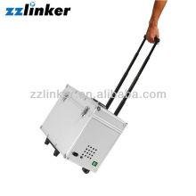 CE FDA Type de bagage Suitcase Air Compressor Intégré avec Wheels Portable Dental Unit