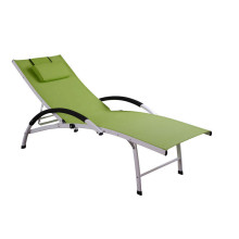 luxury adjustable textilene lounge