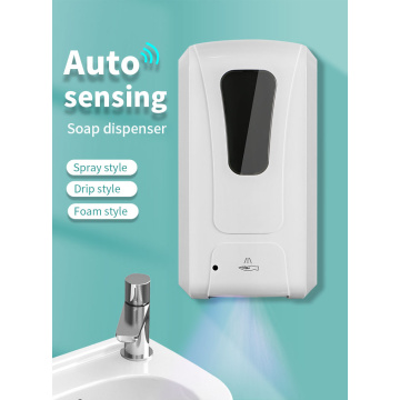 Machine de distributeur de savon désinfectant pour les mains à induction 1200ML