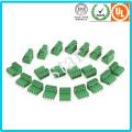Benutzerdefinierte 5,0 mm Pitch verschraubt 3 Pin grüne PCB Terminal Block