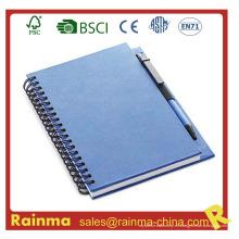 Cuaderno de papel de suministros de oficina para papelería