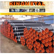 ERW Efw Welded Ms Carbon Black Steel Pipe