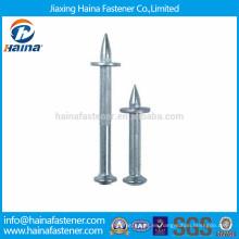 Acero de alta resistencia / acero de aleación Longitud 30mm-100mm HDD clavos de disparo