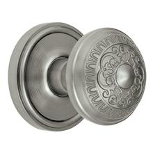 Georgetown rosone Nickel satinato con manopola di Windsor di Privacy