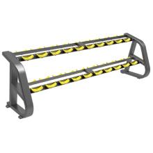 Support commercial d'haltères de gymnase d'équipement de forme physique