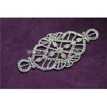 Оптовые bling кристаллические appliques rhinestone bridal applique
