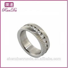 China factory 316 stainless steel ring for women